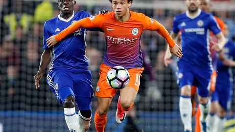 Leroy Sane at full stride is a joy to watch
