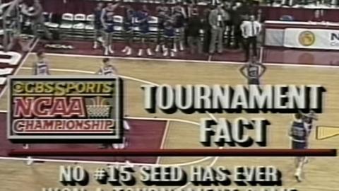 1989 NCAA tournament; No. 15 Richmond over No. 2 Syracuse