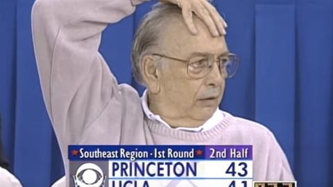 1996 NCAA tournament; No. 13 Princeton d. No. 4 UCLA