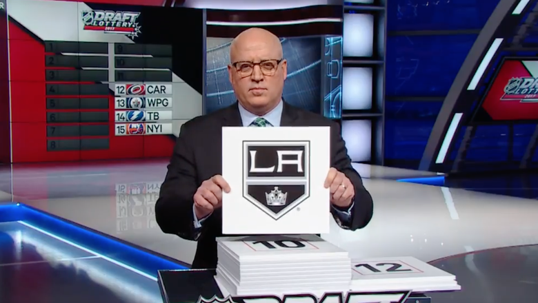 LA Kings will have pick No. 11 in 2017 NHL Draft