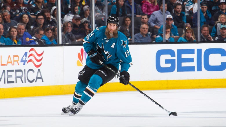 Sharks' Joe Thornton played through torn ACL and MCL in first-round series