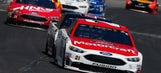 Top 10 drivers after Stage 2 in O'Reilly Auto Parts 500