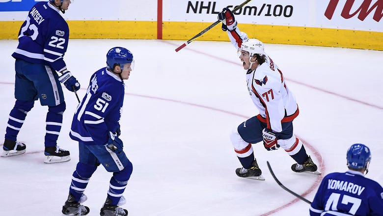 Playoff Roundup: Capitals use quick start to pull even with Maple Leafs in Game 4