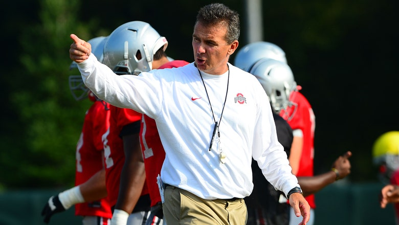 Urban Meyer prepping the Buckeyes' new batch of talent for the spotlight