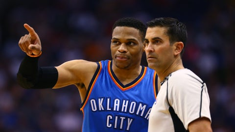 Russell was magnificent for three quarters