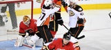 Perry's goal in OT completes Ducks comeback in Calgary