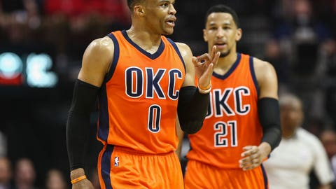 Rockets oust Westbrook's Thunder from National Basketball Association playoffs