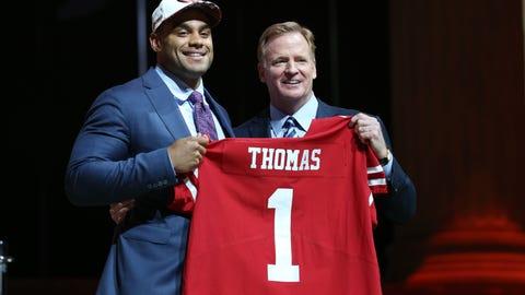San Francisco 49ers: Solomon Thomas, DE, Stanford