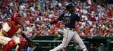 Braves' third baseman Adonis García focuses on future