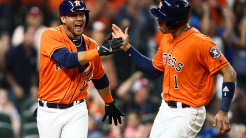 The Astros will win their first title