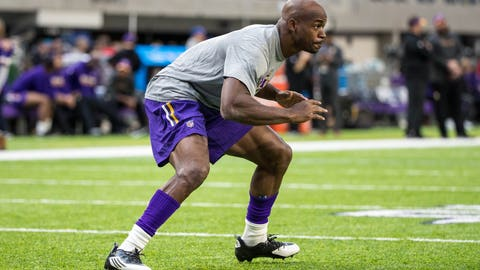 Peterson was humbled this offseason