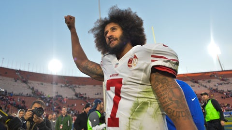 There are very few destinations for Kaepernick left if he wants to be a starter