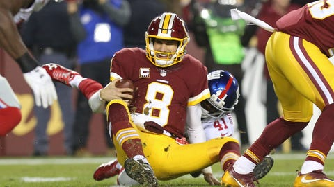 It comes down to how much Kyle Shanahan believes in Kirk Cousins