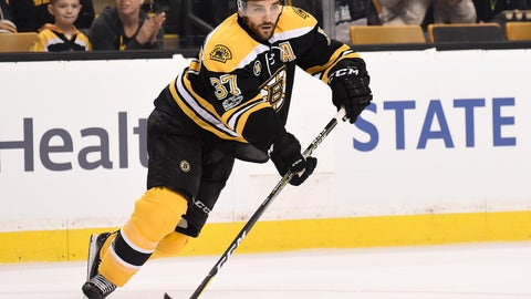 Patrice Bergeron, C, Boston Bruins