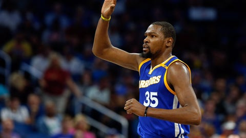 Kevin Durant will be the NBA Finals MVP