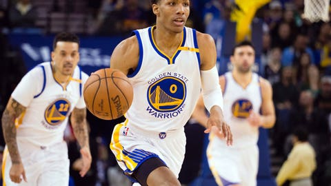 Whichever lanky Pat McCaw type the Warriors are wedging in there these days