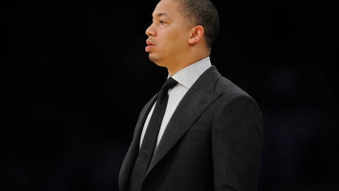 The Cavs are going to turn on Ty Lue