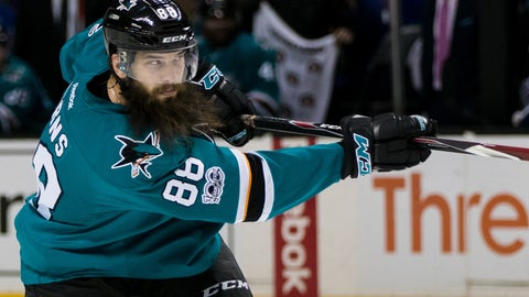Brent Burns, D, San Jose Sharks