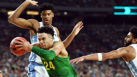 NCAA Basketball: Final Four-Oregon vs North Carolina