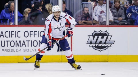 Alex Ovechkin, LW, Washington Capitals