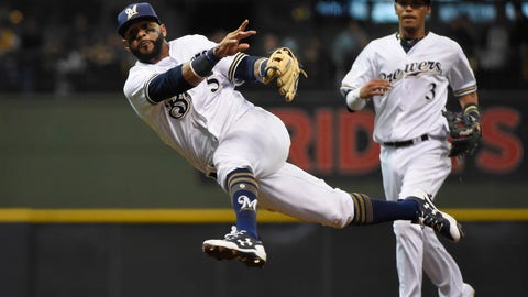 Milwaukee Brewers (2-5)