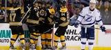 Lightning's playoff hopes get slimmer after loss to Bruins