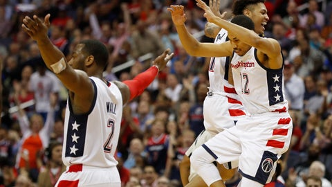 The Wizards are going to play in the Eastern Conference Finals