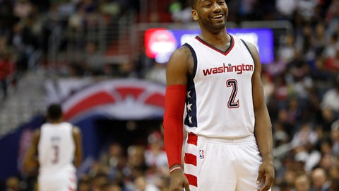 John Wall is ready for his close-up