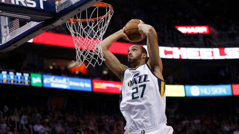 C, first team: Rudy Gobert, Utah Jazz