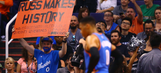 Westbrook clinches triple-double average for season