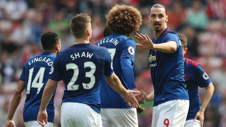 EPL Notes: Zlatan Ibrahimovic continues strong play in United's win over Sunderland
