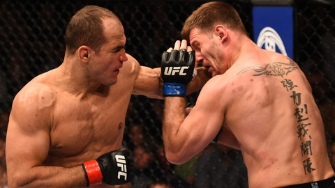 Junior Dos Santos over Stipe Miocic