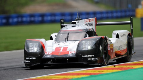 The No. 1 Porsche will lead the WEC field to green at 8:30 a.m. ET Saturday on FS1. (Photo: LAT Images)
