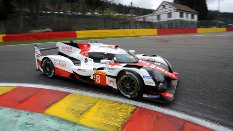 The No. 8 Toyota has won the opening two races of the 2017 FIA WEC season. (Photo: LAT Images)