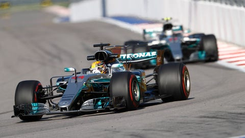 Toto Wolff says that the team is working hard to make the W08 more consistent. (Photo: Glenn Dunbar/LAT Images)