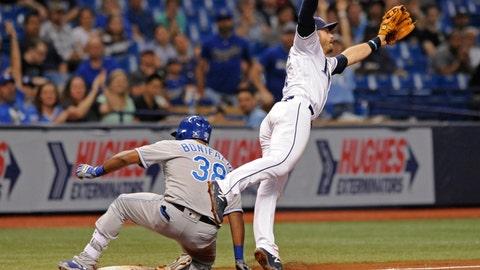May 9: Royals 7, Rays 6 (12 innings)