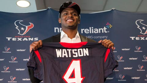 Texans GM: Deshaun Watson Will Compete For Starting QB Role In 2017