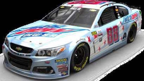 The Mtn Dew Dew-S-A paint scheme
