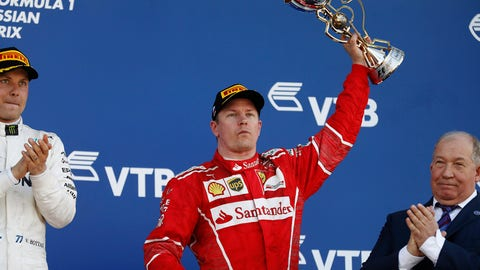 Kimi Raikkonen sits fourth in the points entering the Spanish GP. (Photo: Glenn Dunbar/LAT Images)