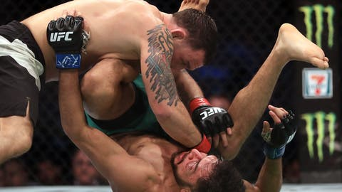 Frankie Edgar vs. the winner of Jose Aldo vs. Max Holloway or Cub Swanson