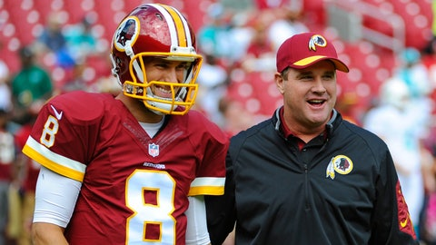 Redskins Mum About QB Kirk Cousins' Future With Squad
