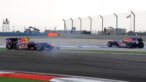 Sebastian Vettel vs. Mark Webber