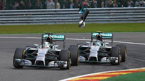 Lewis Hamilton vs. Nico Rosberg