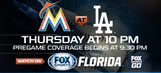 Preview: Marlins begin four-game series vs. Dodgers in L.A.