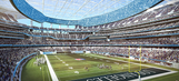 Record rainfall delays Rams, Chargers stadium opening by one year