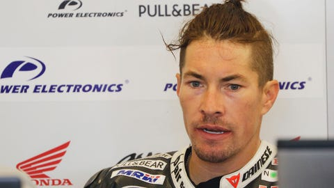 Nicky Hayden was struck by a car while training on his bicycle on Wednesday. (Photo: Kevin Wood/LAT Photographic)