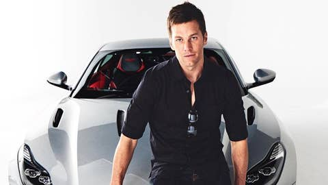 Brady signs deal to pitch $212K Aston Martin car