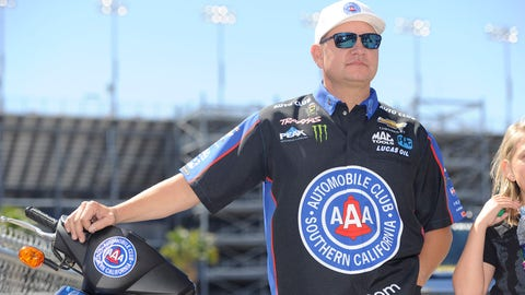 For Robert Hight, the journey all started in Topeka. (Photo credit: NHRA)