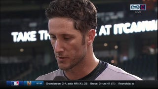 Yan Gomes discusses his huge day at the plate with Andre after sweep