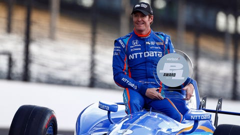 Scott Dixon will start Sunday's Indianapolis 500 from pole. (Photo: Phillip Abbott/LAT Images)